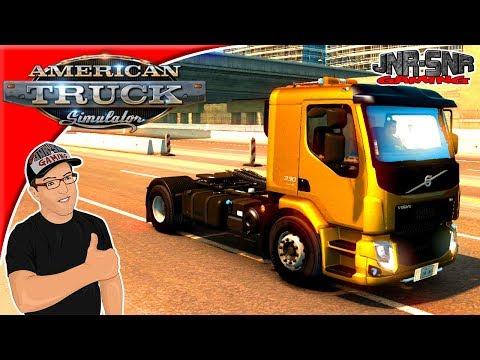 American Truck Simulator Mods Volvo VM Mod Review