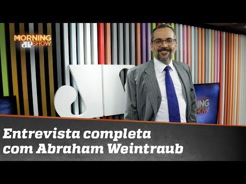 Entrevista completa com Abraham Weintraub