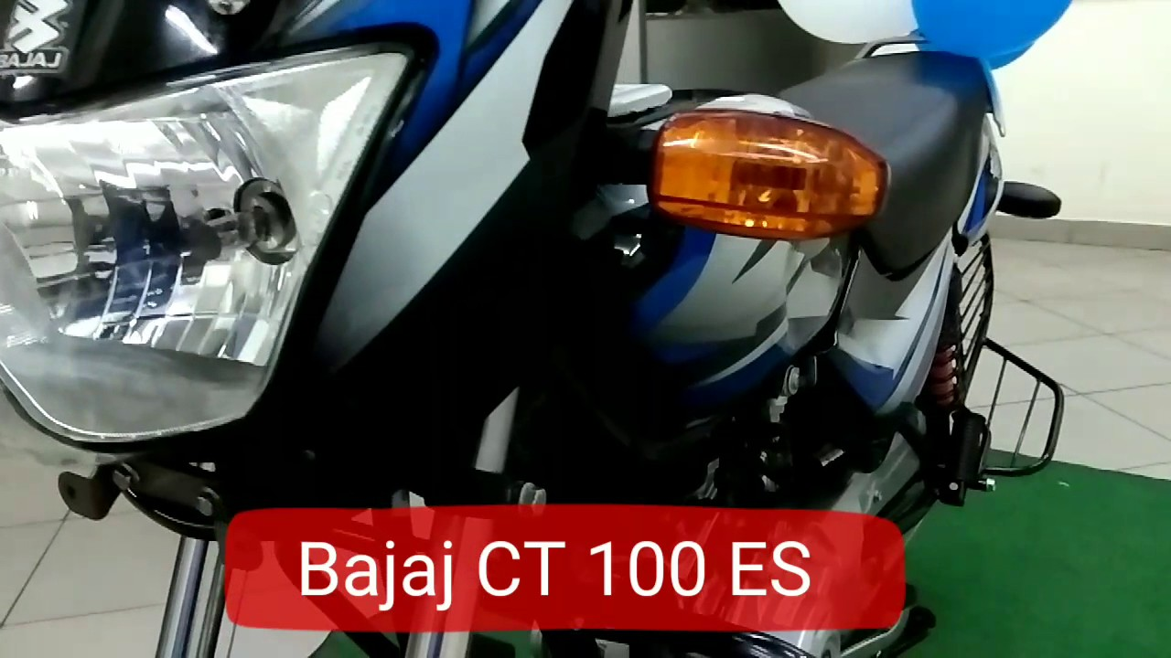 Bajaj Ct 100 Es 2018 Electric Start World Exclusive