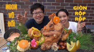 |TẬP 573| VỊT GÀ RÁN GIÒN RỤM VÀNG ƯƠM GÀ RÁN TRUYỀN THỐNG HÀN QUỐC! CHICKEN DUCK MUKANG EATING SHOW