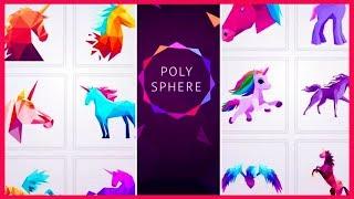 POLYSPHERE Gameplay Walkthrough by Playgendary Level 131-144