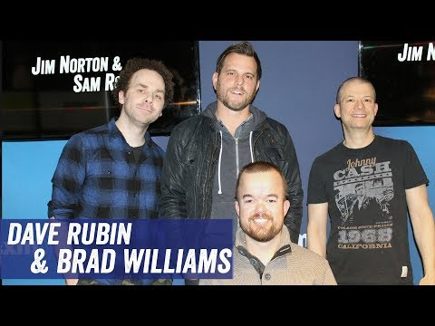 Dave Rubin & Brad Williams - Jordan Peterson, Twitter, Stand Up - Jim Norton & Sam Roberts