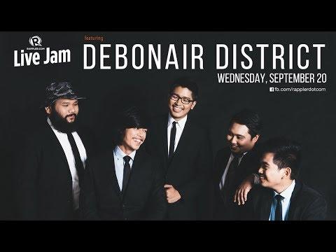 Rappler Live Jam: Debonair District