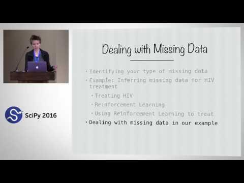 Constructing Models to Deal with Missing Data | SciPy 2016 | Deborah Hanus