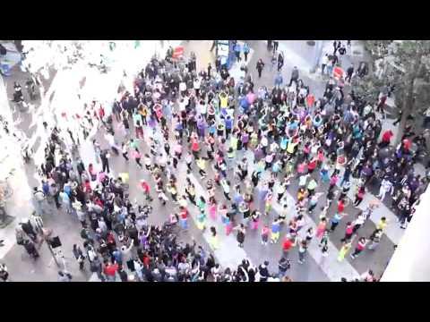 Flash Mob Zumba Fitness, Santiago   Chile Septiembre 2012