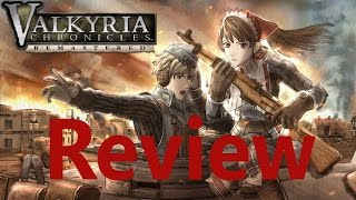 Valkyria Chronicles Remastered - Review | Playstation 4 {Full 1080p HD, 60 FPS}
