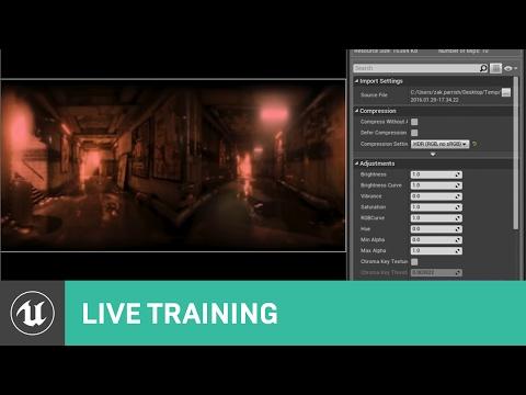 Blueprint Blending Between Multiple Skylight Cubemaps   Live Training   Unreal Engine