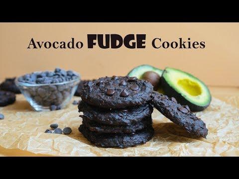 Extreme Fudge Avocado Cookies | Low Calorie Keto Dessert