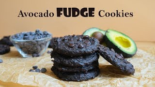 Extreme Fudge Avocado Cookies | Low Calorie Keto Dessert