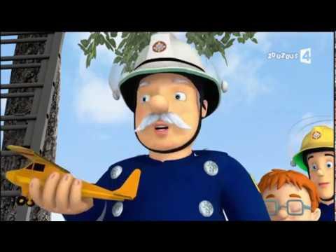 Sam le pompier : s1 e48 la maquette davion youtube