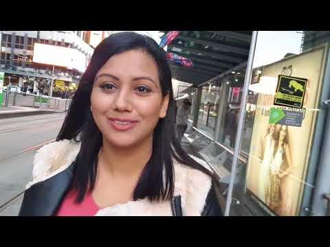 Let's go to Melbourne Australia Downtown with Mamta Sachdeva
