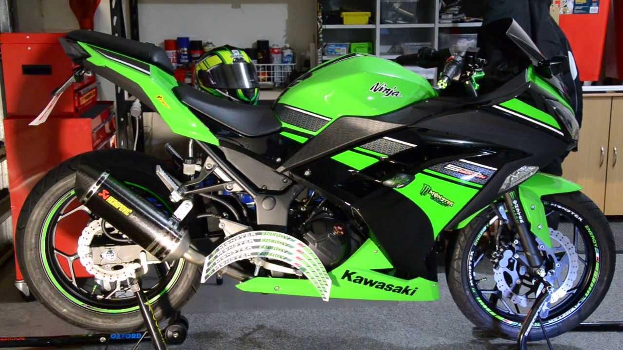 Ninja Monster Racing Wheel Stickers YouTube - Stickers for motorcycles kawasaki
