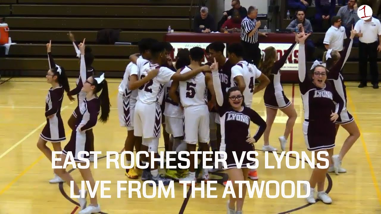 WEBCAST REPLAY: East Rochester & Lyons battle for first place in Wayne County (FL1 Sports)