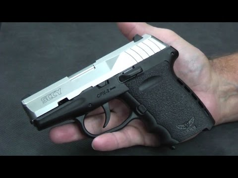 SCCY CPX-2 - Inexpensive, Good Quality 9mm Pistol