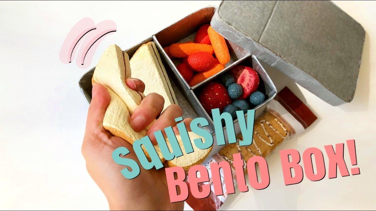 My Diy Squishy Bento Lunch Box Vlog Mishcrafts