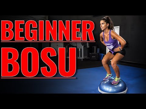 TOP 3 BOSU Ball Leg Exercises for Beginners