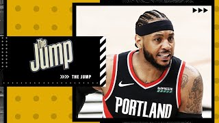 The Jump reacts to Carmelo Anthony's comments to Stephen A. Smith