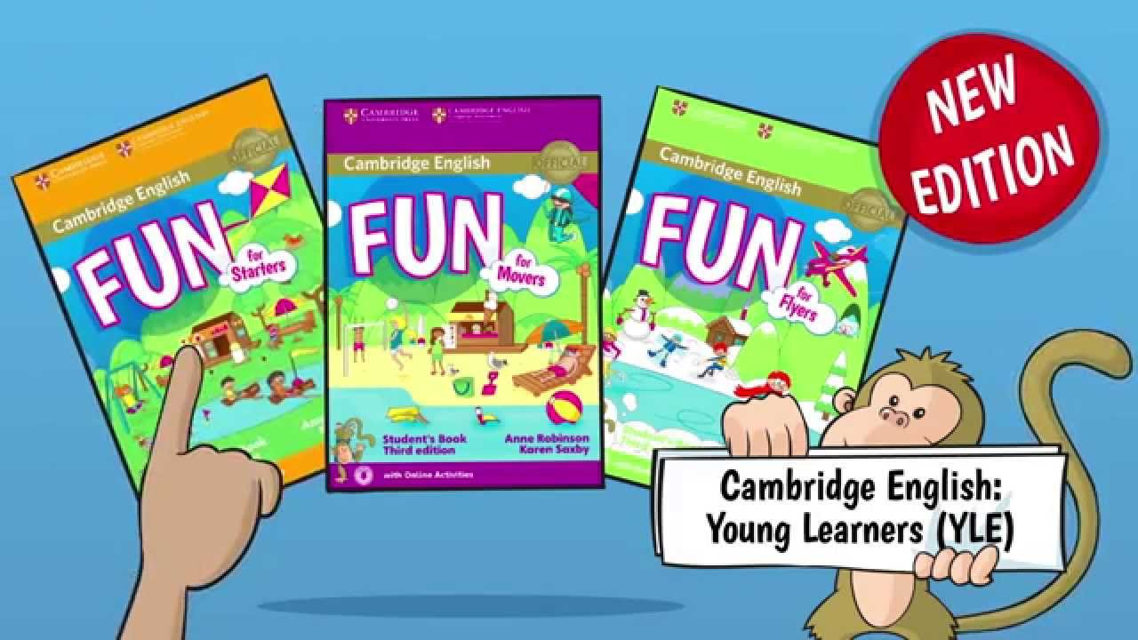 For students book cambridge movers fun