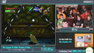 AGDQ 2015 - The Legend of Zelda: Ocarina of Time 100% Speedrun in 4:45:08 by ZFG