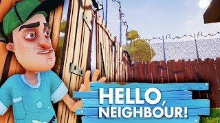 СБЕЖАЛ ИЗ ПОДВАЛА и ОКАЗАЛСЯ В ТЮРЬМЕ СОСЕДА Мульт игра про ЗЛОГО СОСЕДА Hello Neighbour