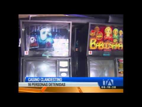 Un casino clandestino que funcionaba como restaurante en Quito fue clausurado