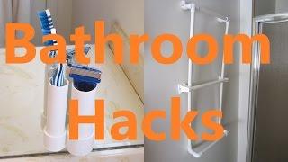 5 Bathroom Life Hacks with PVC Pipe