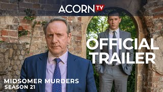 Trailer Midsomer Murders seizoen 21 (in december 2019 op NPO 1)