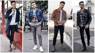 4 Easy Outfits for Guys |  Men's Fashion Inspiration Lookbook 2019 | Alex Costa