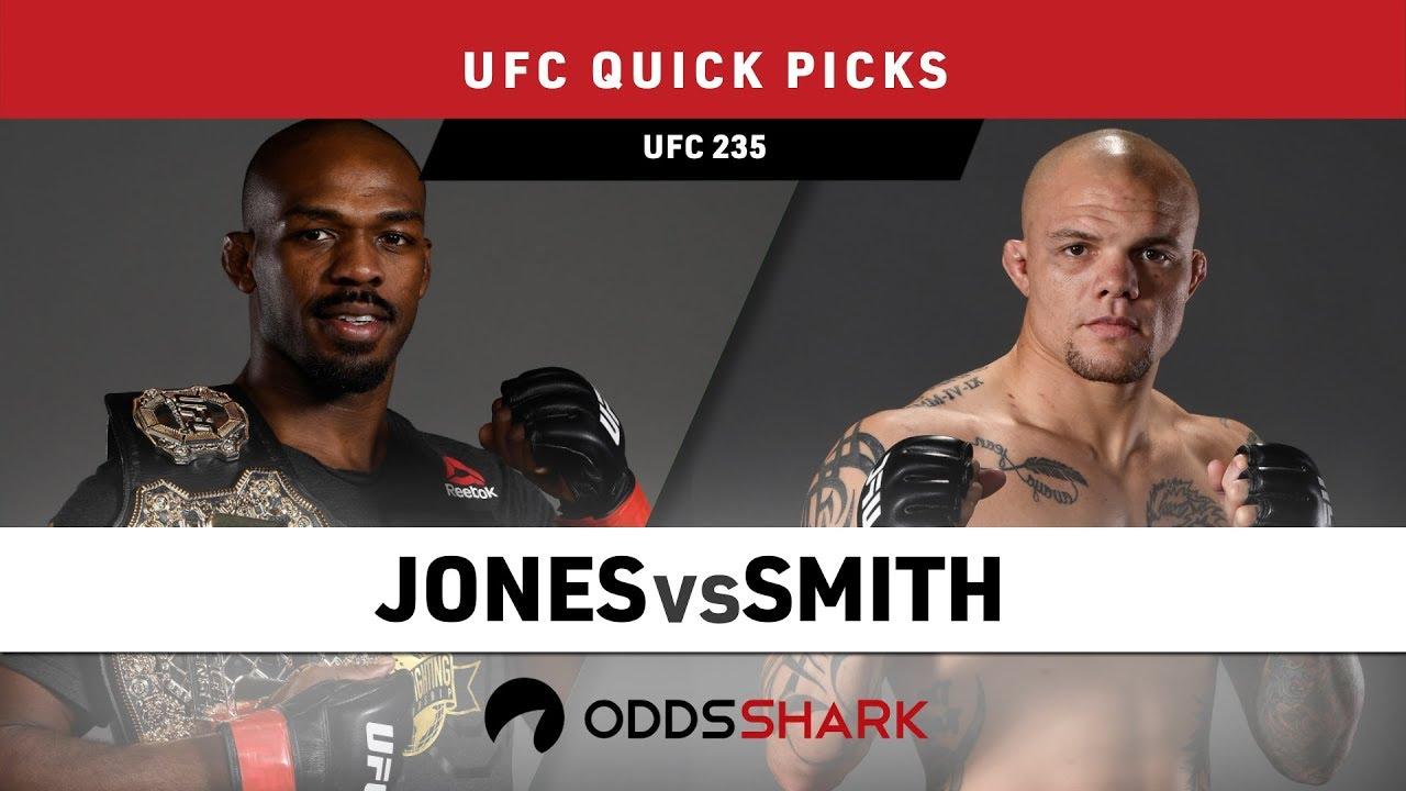 UFC 235 Quick Picks and Betting Odds - Jones vs Smith