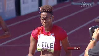 American Shamier Little Wins Women's 400m Hurdles – Universal Sports