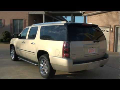 2009 gmc yukon xl denali navigation for sale see www sunsetmilan com youtube. Black Bedroom Furniture Sets. Home Design Ideas