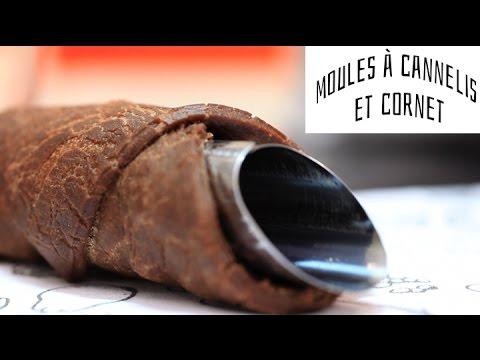 Utiliser un moule à cannoli et à cornet à glace Marmiton