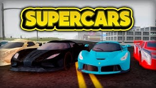 WE BUY SUPERCARS! (ROBLOX Vehicle Simulator)