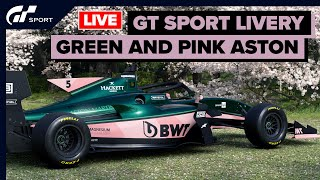 Can A British Racing Green And Pink Aston Martin Work? - GT SPORT LIVERY