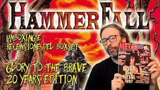 [Unboxing Videorecensione] HAMMERFALL Glory to the Brave - la recensione di Metal Shock del 1997!