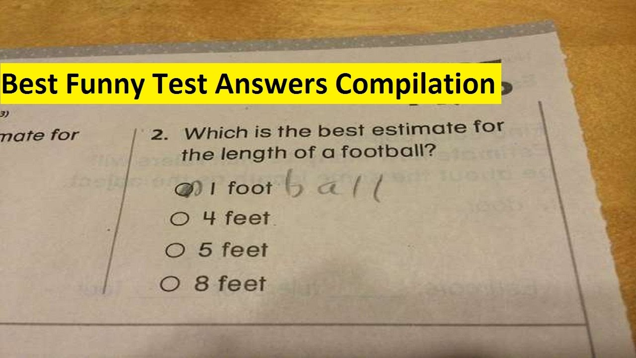 best funny test answers compilation of all time hilarious test answers from smart kids by a2z. Black Bedroom Furniture Sets. Home Design Ideas