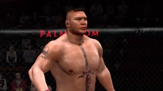 UFC Undisputed 2009 Gameplay: Brock Lesnar vs Frank Mir