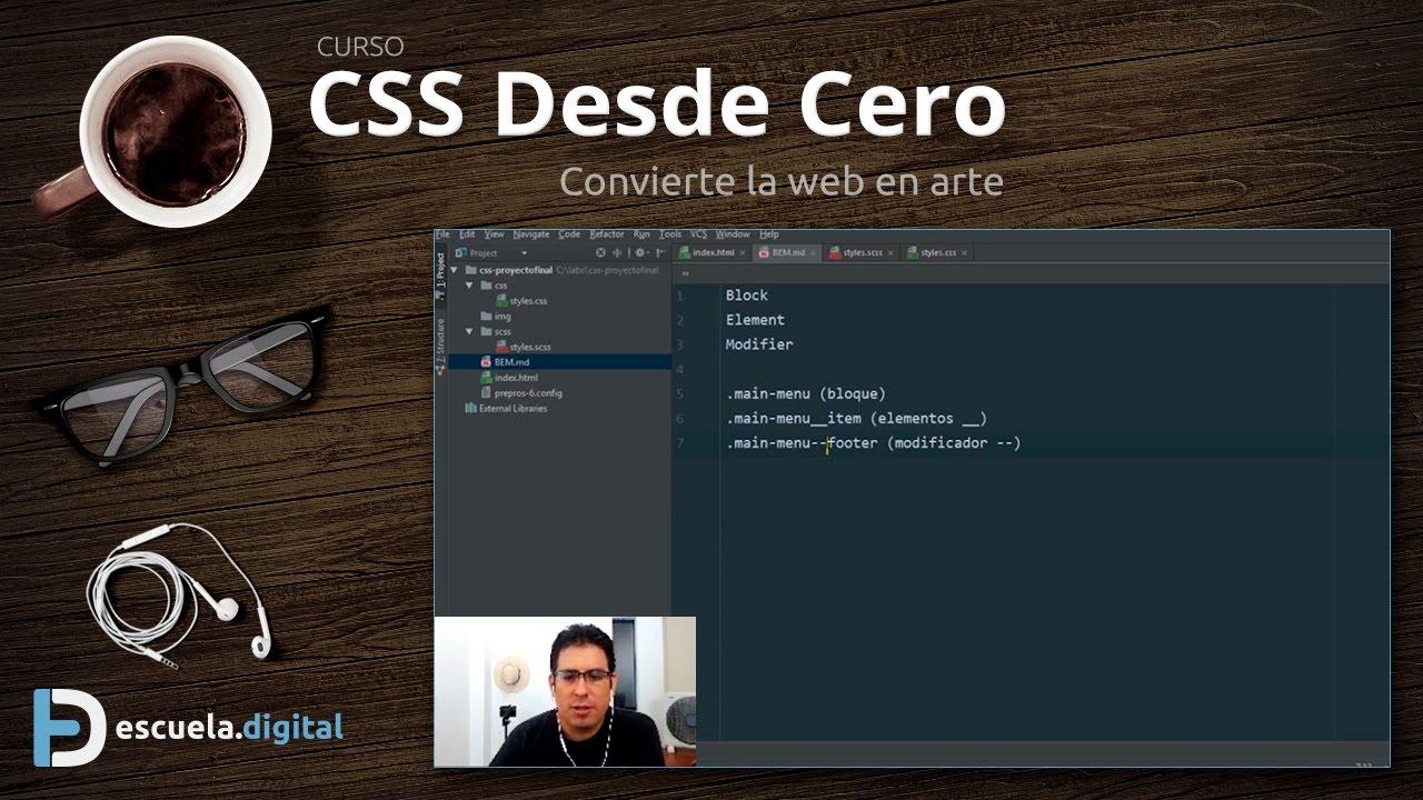 Download #CSSDesdeCero (8) - Escribe un mejor CSS con BEM (Bloque, Elemento, Modificador)