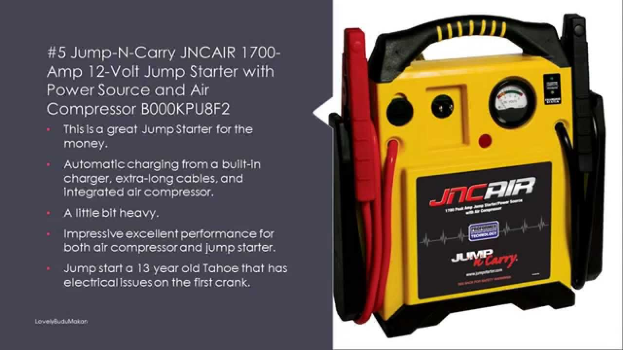 Car Battery Charger Reviews >> Best Battery Jump Starter Reviews - Jump Starter for Car - YouTube