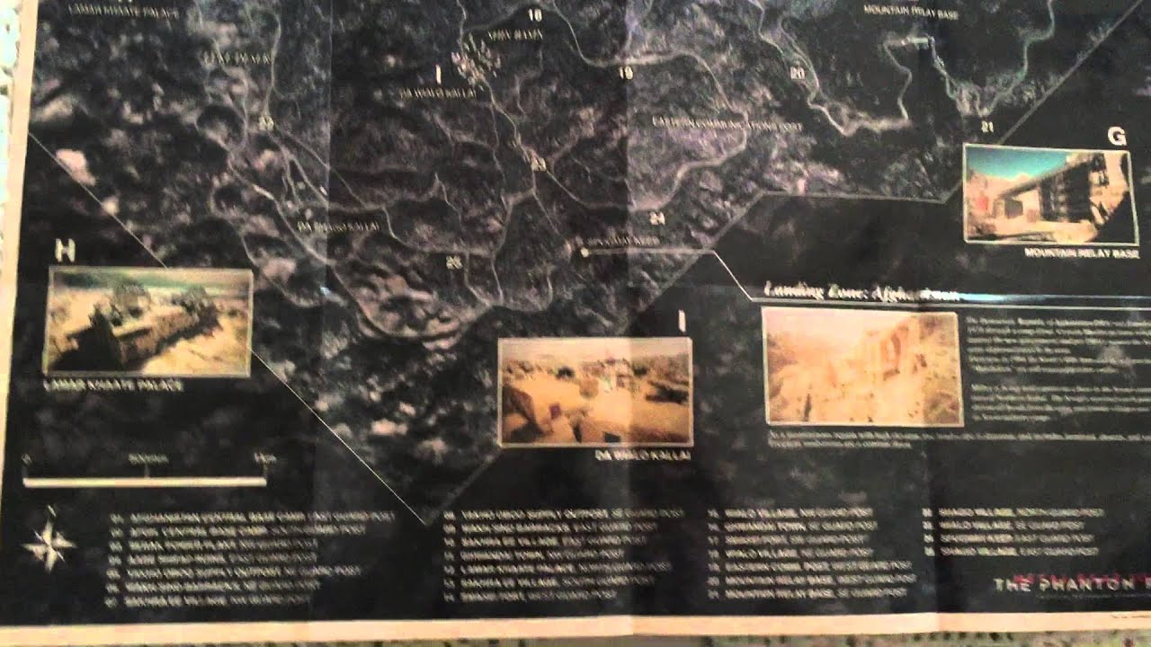 Metal gear solid 5 the phantom pain map size YouTube