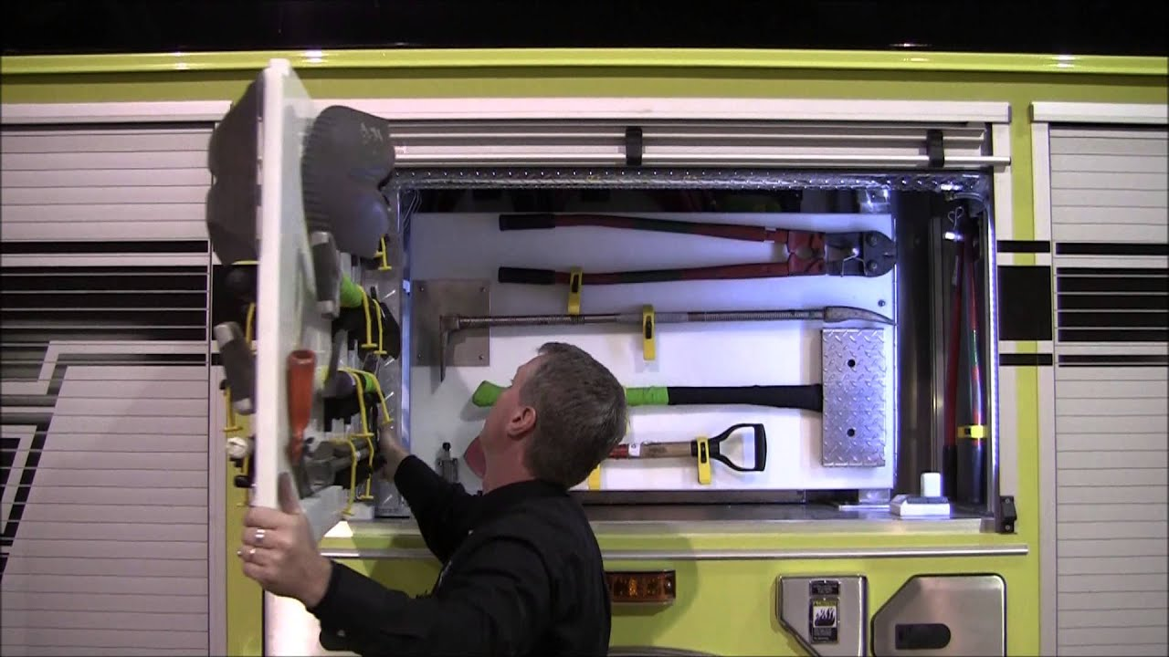 Fire Truck Equipment Mounting Youtube
