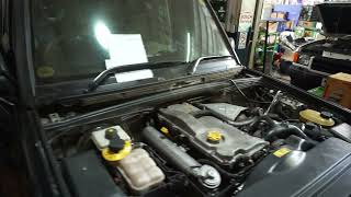 Land Rover Discovery 2  TD 5 Engine After Repair Resimi