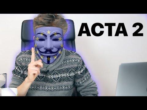 artykuł 13. masz się czym martwić - o to dlaczego acta 2