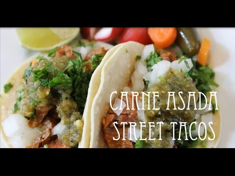 Carne Asada Street Steak Tacos