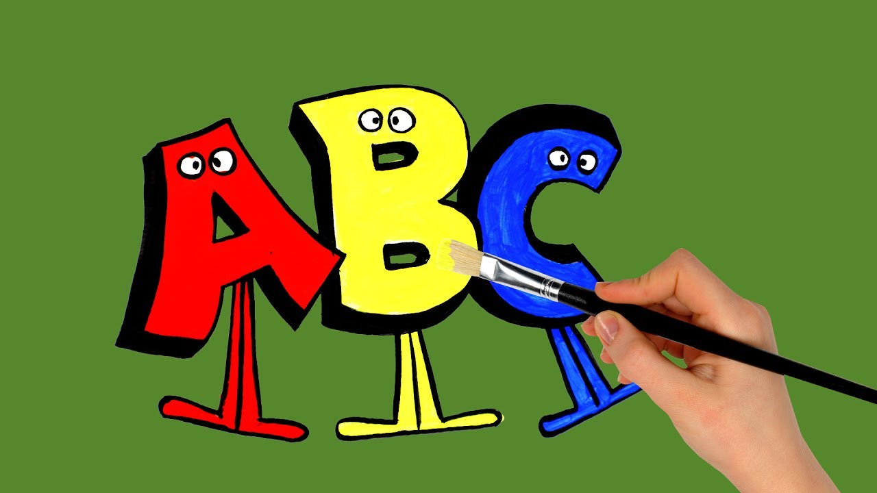 Alphabet ABC Coloring Pages How To Draw Alphabet And Coloring Pages ...