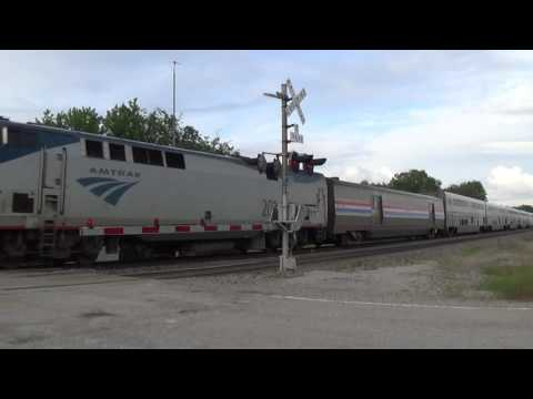 Thumbnail: Westbound California Zephyr with Third Sleeper