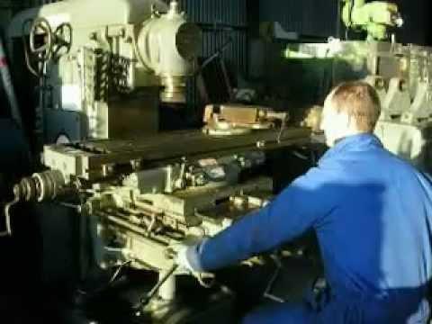 Nobilla Machine Tools Parkson 3nu 1 Universal Milling Machine