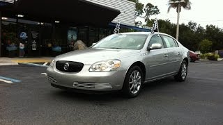 Autoline Preowned 2008 Buick Lucerne CXL For Sale Used Walk Around Review Test Drive Jacksonville