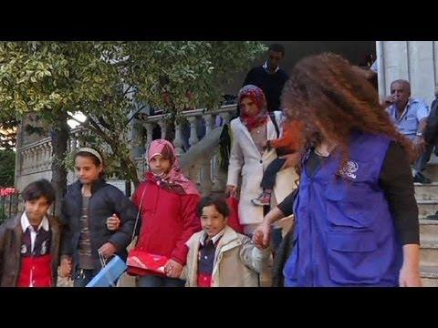 دفعة جديدة من اللاجئين السوريين في لبنان يغادرون إلى ألمانيا