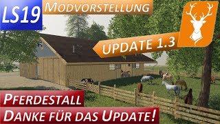 """[""""LS19"""", """"FS19"""", """"Landwirtschafts Simmulator"""", """"Modvorstellungen"""", """"Playtest"""", """"gameplay"""", """"Hof Hirschfeld"""", """"Farming Simmulator"""", """"Pferdestall mit Boxen"""", """"Update"""", """"Version 1.3"""", """"Update 1.3"""", """"Pferde füttern"""", """"Pferdestall mit Licht"""", """"Boxen"""", """"Pferde"""